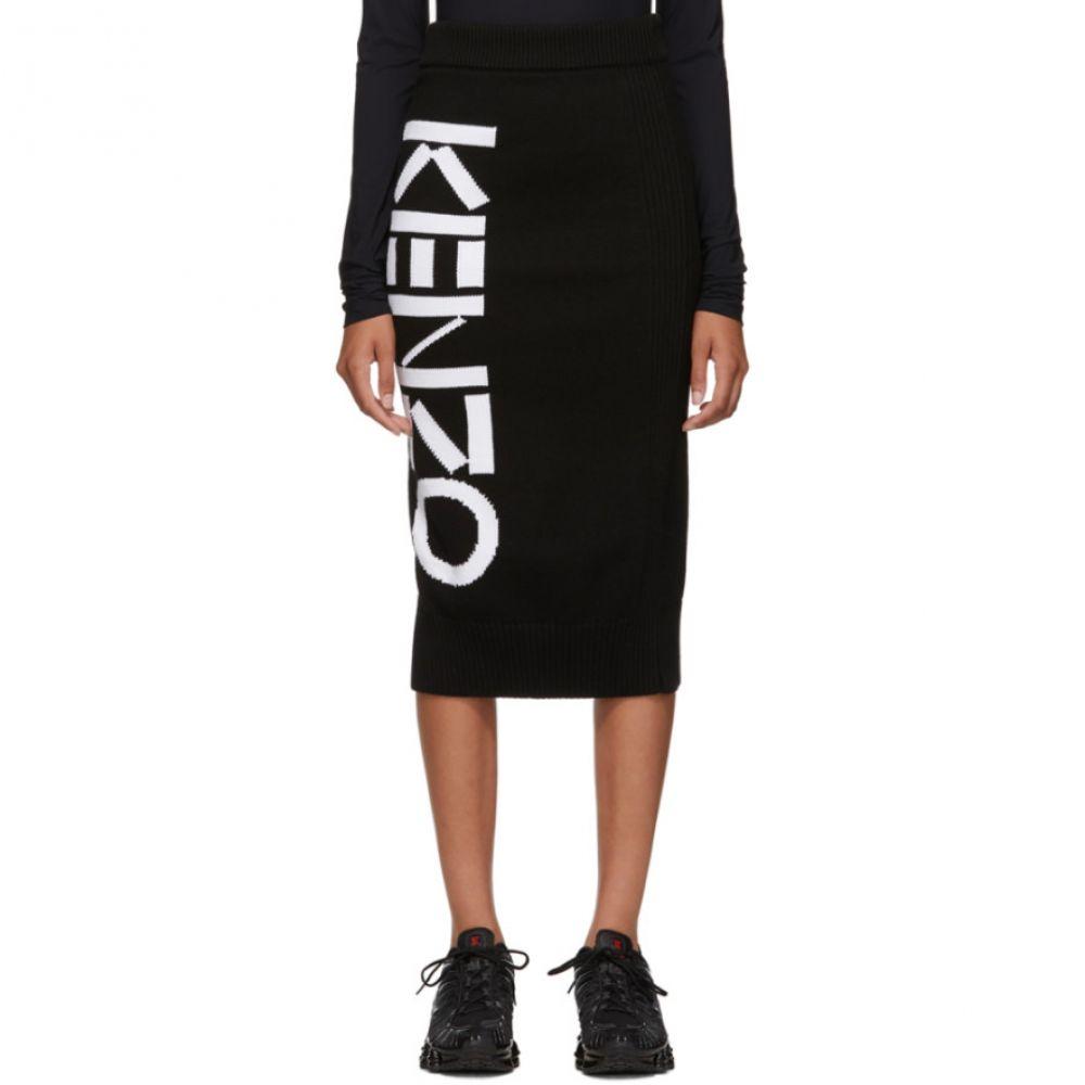ケンゾー Kenzo レディース ひざ丈スカート スカート【Black Sport Tube Mid-Length Skirt】Black