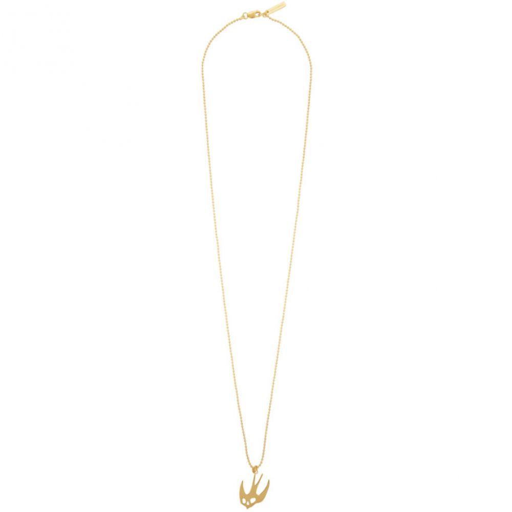 アレキサンダー マックイーン McQ Alexander McQueen レディース ネックレス ジュエリー・アクセサリー【Gold Swallow Necklace】Gold
