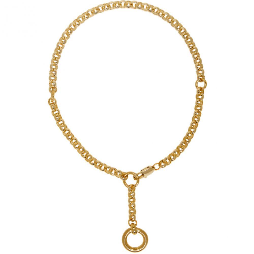 ローラロンバルディ Laura Lombardi レディース ネックレス ジュエリー・アクセサリー【Gold Rina Necklace】Brass