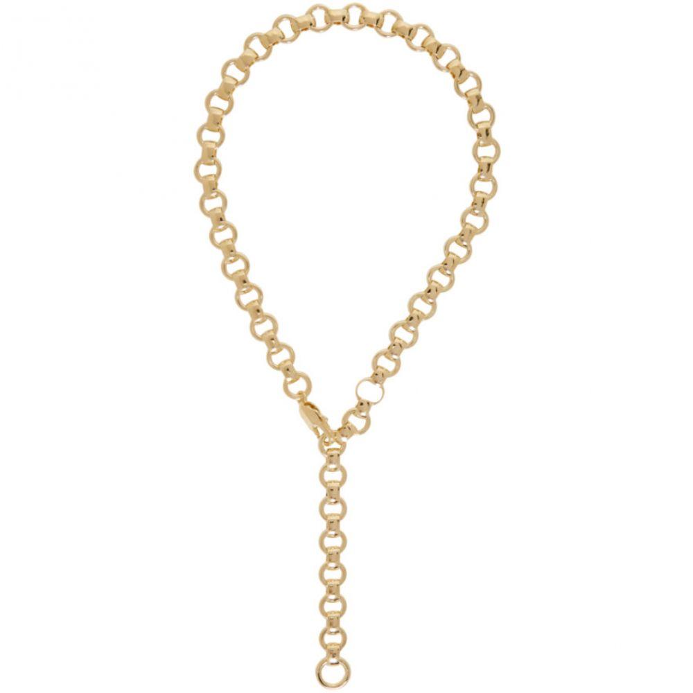 ローラロンバルディ Laura Lombardi レディース ネックレス ジュエリー・アクセサリー【Gold Franca Chain Necklace】Brass