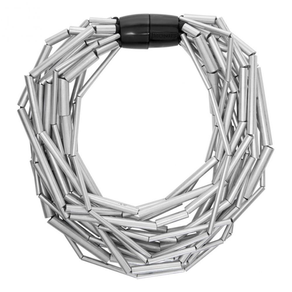 マニーズ Monies レディース ネックレス ジュエリー・アクセサリー【Silver Lake Necklace】Silver/Black