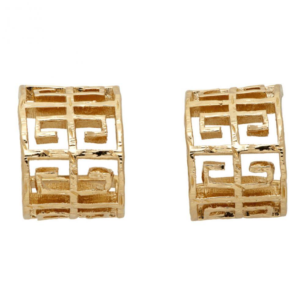 ジバンシー Givenchy レディース イヤリング・ピアス ジュエリー・アクセサリー【Gold 4G Earrings】Brass