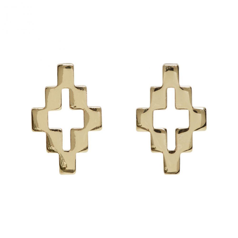 マルセロバーロン Marcelo Burlon County of Milan レディース イヤリング・ピアス ジュエリー・アクセサリー【Gold Cross Earrings】Gold