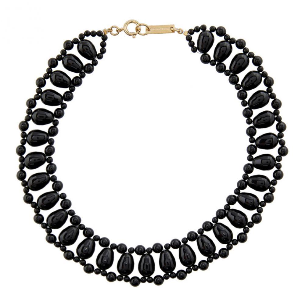 イザベル マラン Isabel Marant レディース ネックレス ジュエリー・アクセサリー【Black Malawi Necklace】Black
