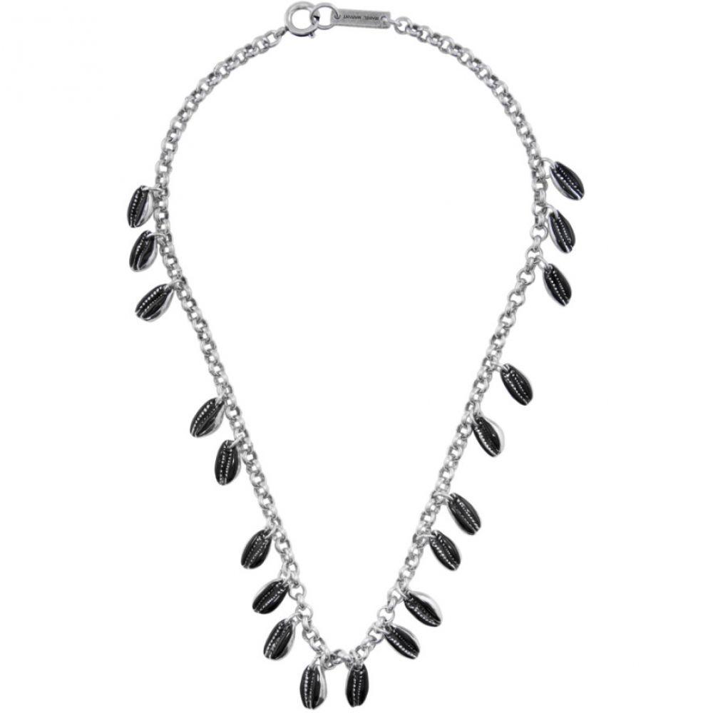 イザベル マラン Isabel Marant レディース ネックレス ジュエリー・アクセサリー【Black & Silver New Amer Necklace】Black/Silver