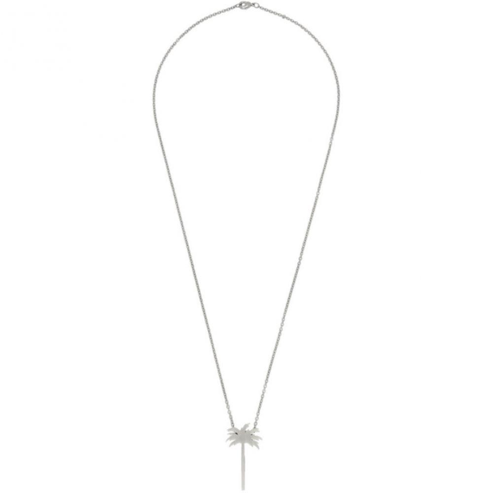 パーム エンジェルス Palm Angels レディース ネックレス ジュエリー・アクセサリー【Silver Palm Tree Necklace】Silver