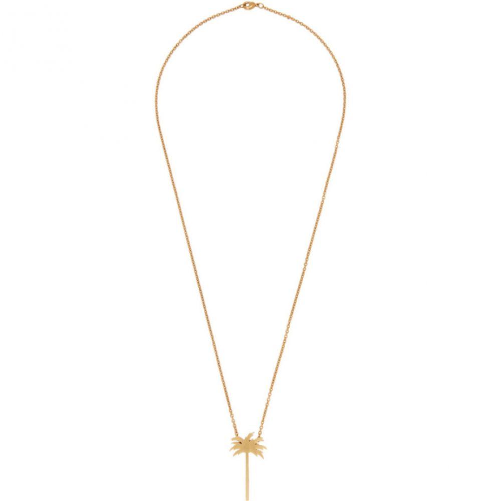 パーム エンジェルス Palm Angels レディース ネックレス ジュエリー・アクセサリー【Gold Palm Tree Necklace】Gold