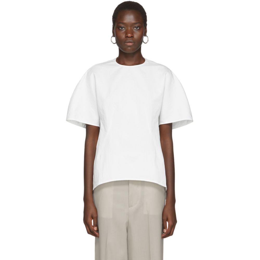 アーチ ザ Arch The レディース Tシャツ トップス【White Blouse T-Shirt】White