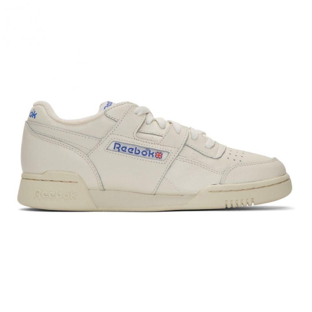 リーボック Reebok Classics メンズ スニーカー シューズ・靴【White Workout Plus 1987 TV Sneakers】Chalk/Paper white/Royal