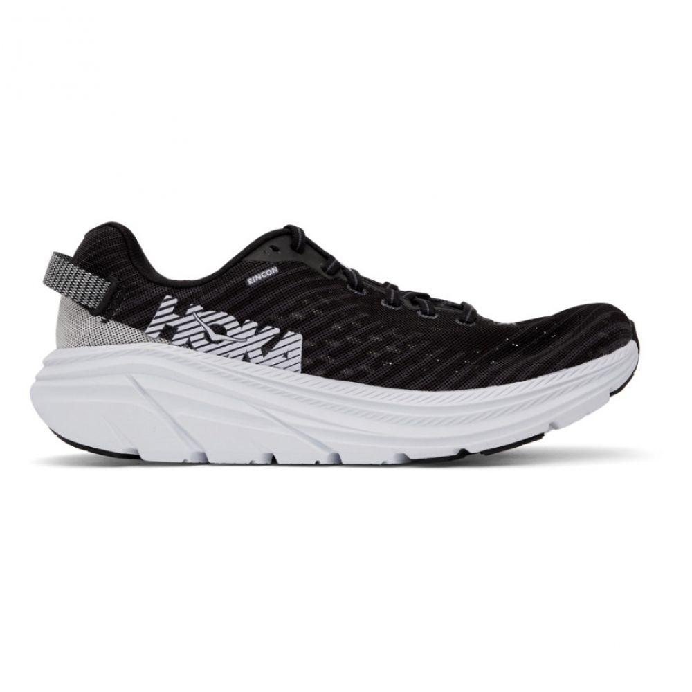 ホカ オネオネ Hoka One One メンズ スニーカー シューズ・靴【Black & White Rincon Sneakers】Black/White