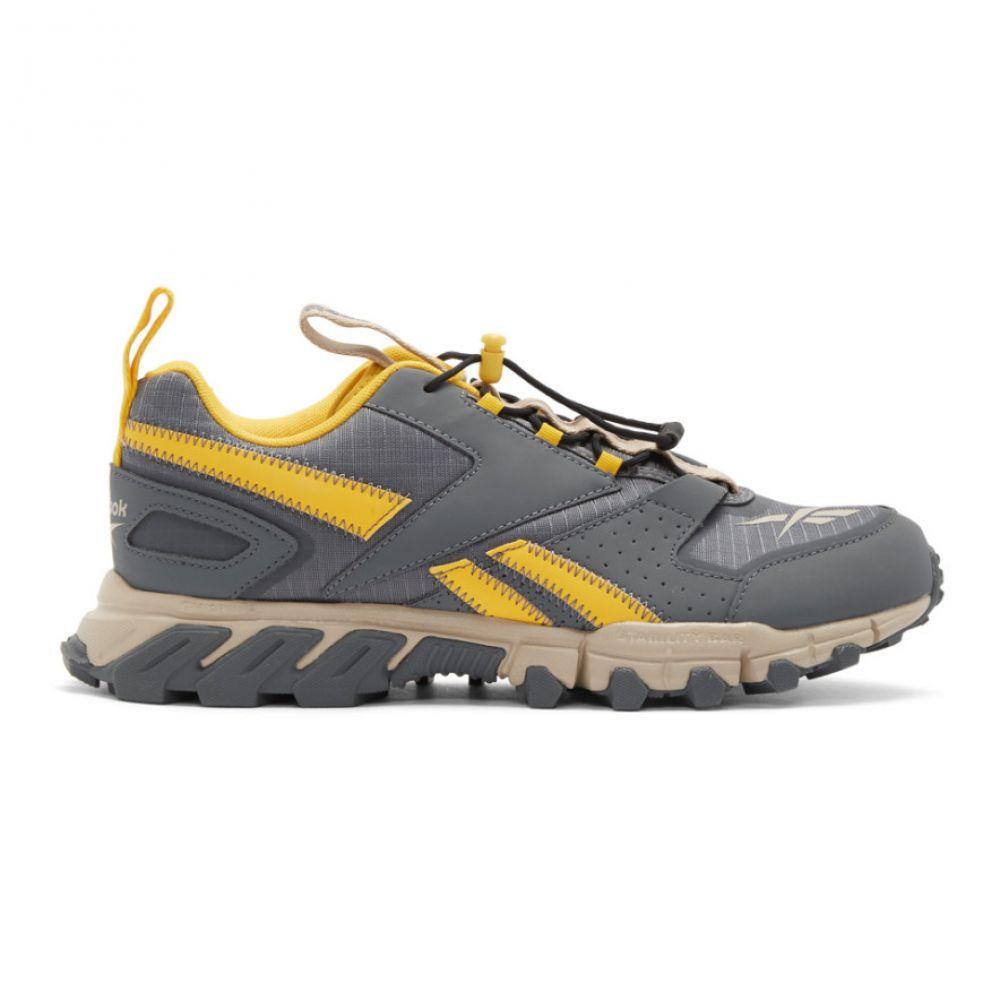 リーボック Reebok Classics メンズ スニーカー シューズ・靴【Grey & Yellow DMXpert Sneakers】Toxic yellow