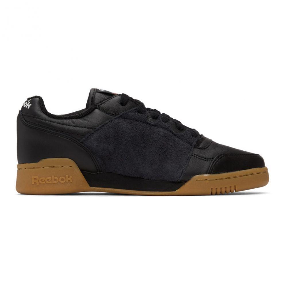 リーボック Reebok Classics メンズ スニーカー シューズ・靴【Black Workout Plus Nepenthes Sneakers】Black/Gum