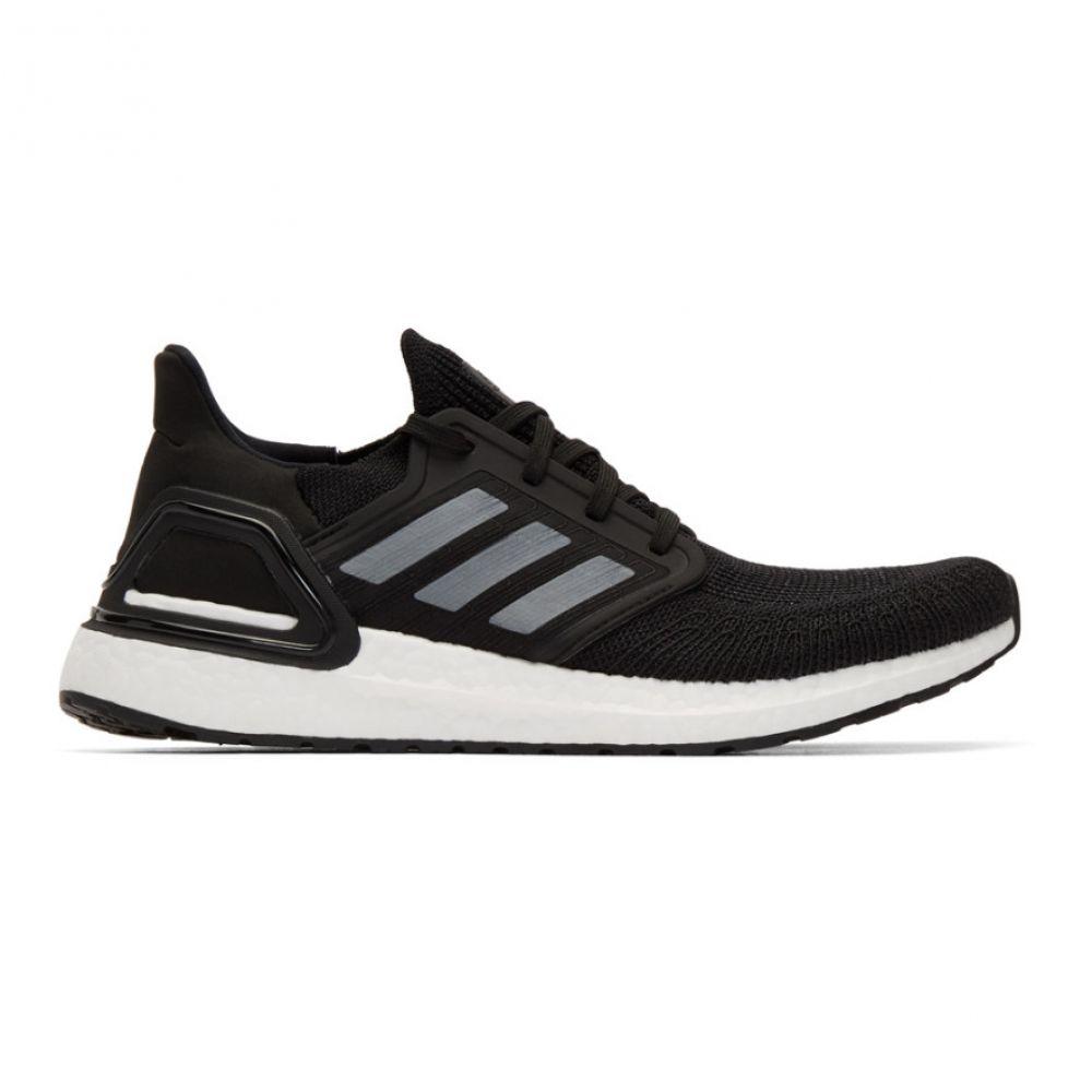 アディダス adidas Originals メンズ スニーカー シューズ・靴【Black & White UltraBoost 20 Sneakers】Core black/Night metallic/Cloud white