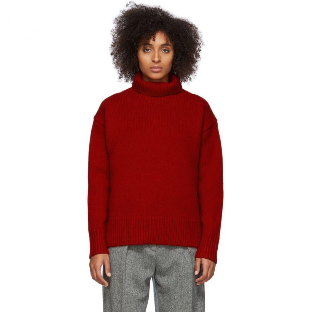ラグ&ボーン rag & bone レディース ニット・セーター トップス【Red Wool Lunet Turtleneck】Ruby