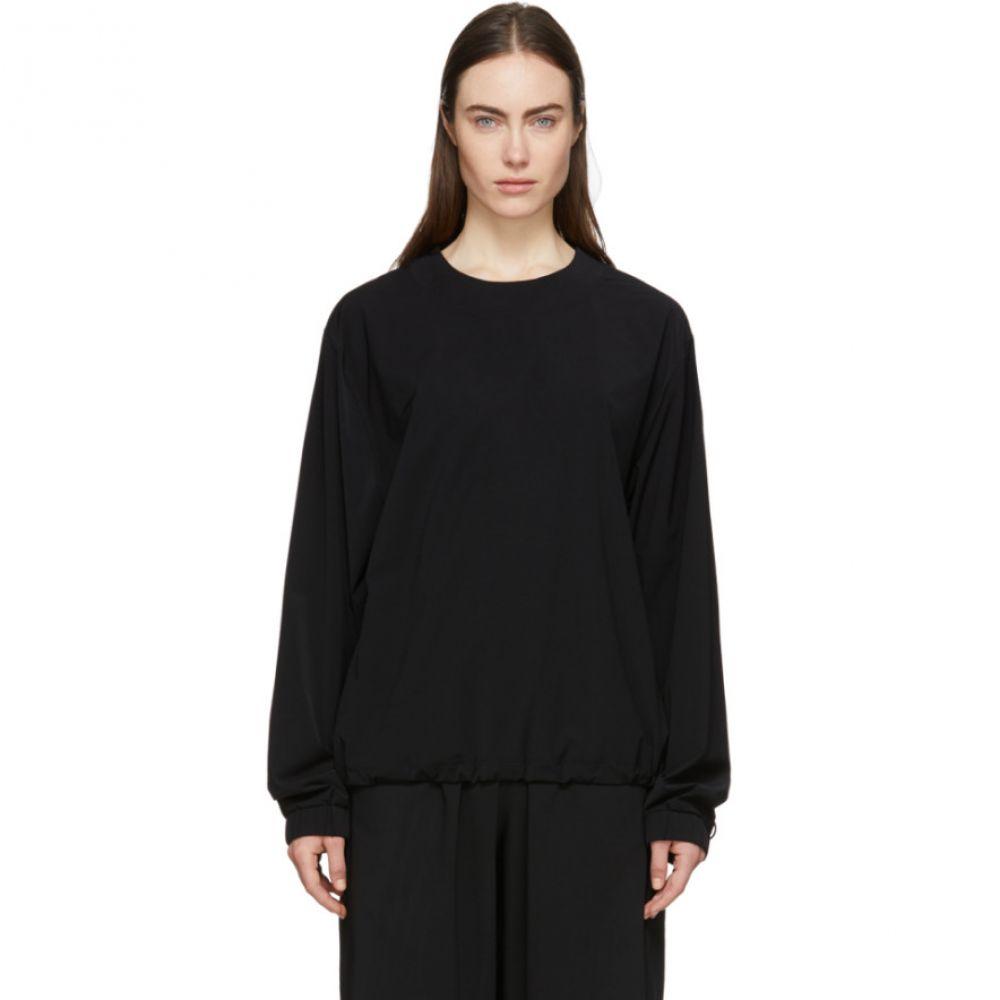 Wone レディース トップス 【Black Woven Pullover】Black