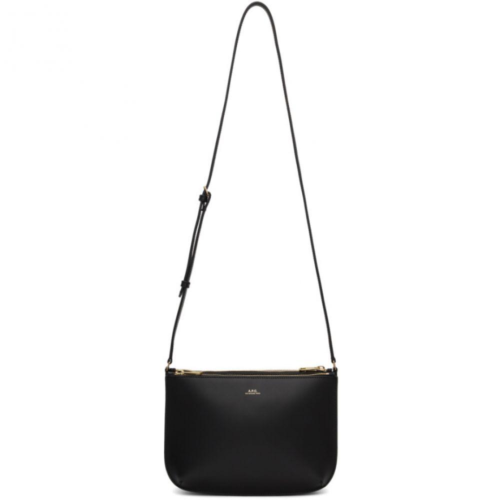 アーペーセー A.P.C. レディース ショルダーバッグ バッグ【Black Sarah Bag】Black