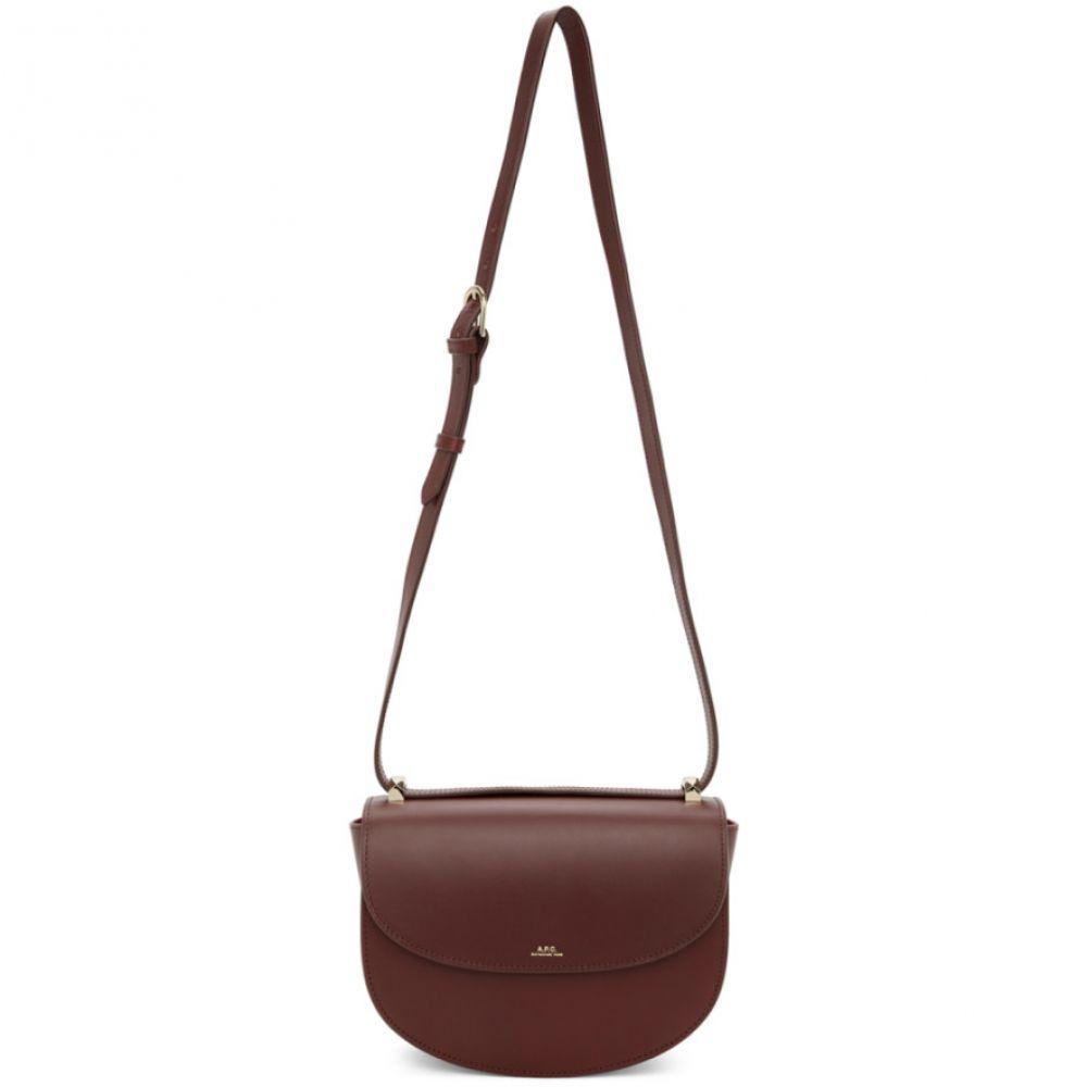 アーペーセー A.P.C. レディース ショルダーバッグ バッグ【Burgundy Geneve Bag】Vino