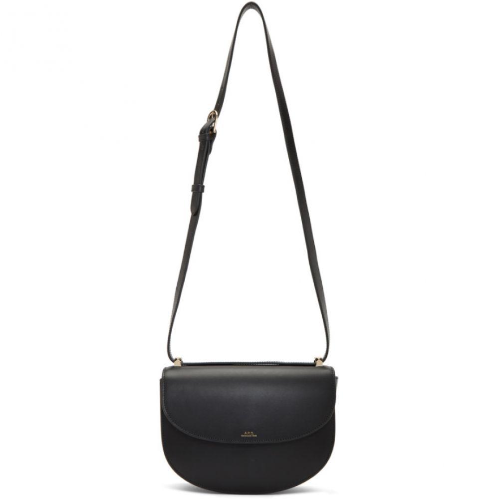 アーペーセー A.P.C. レディース ショルダーバッグ バッグ【Black Geneve Bag】Black