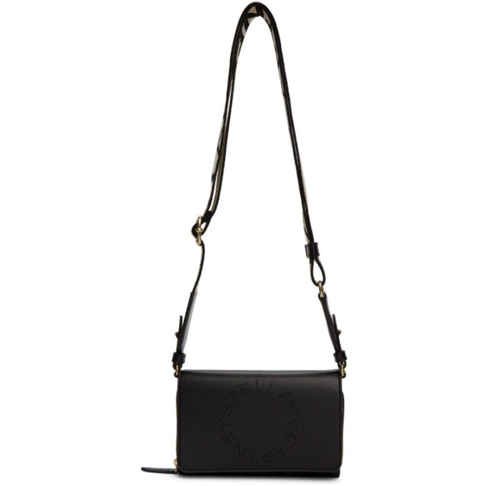ステラ マッカートニー Stella McCartney レディース ショルダーバッグ バッグ【Black Logo Wallet Shoulder Bag】Black
