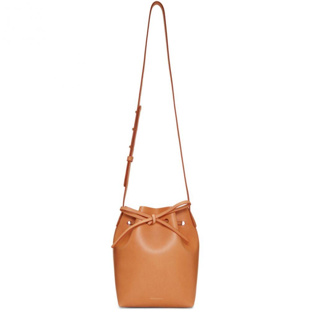 マンサーガブリエル Mansur Gavriel レディース ショルダーバッグ バケットバッグ バッグ【Tan Mini Bucket Bag】Cammello/Rosa