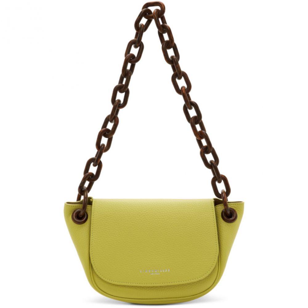 サイモンミラー Simon Miller レディース ショルダーバッグ バッグ【Yellow Bend Bag】Sea lemon