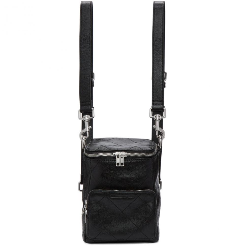 アレキサンダー マックイーン McQ Alexander McQueen レディース バックパック・リュック バッグ【Black Leather Mini Convertible Backpack】Black