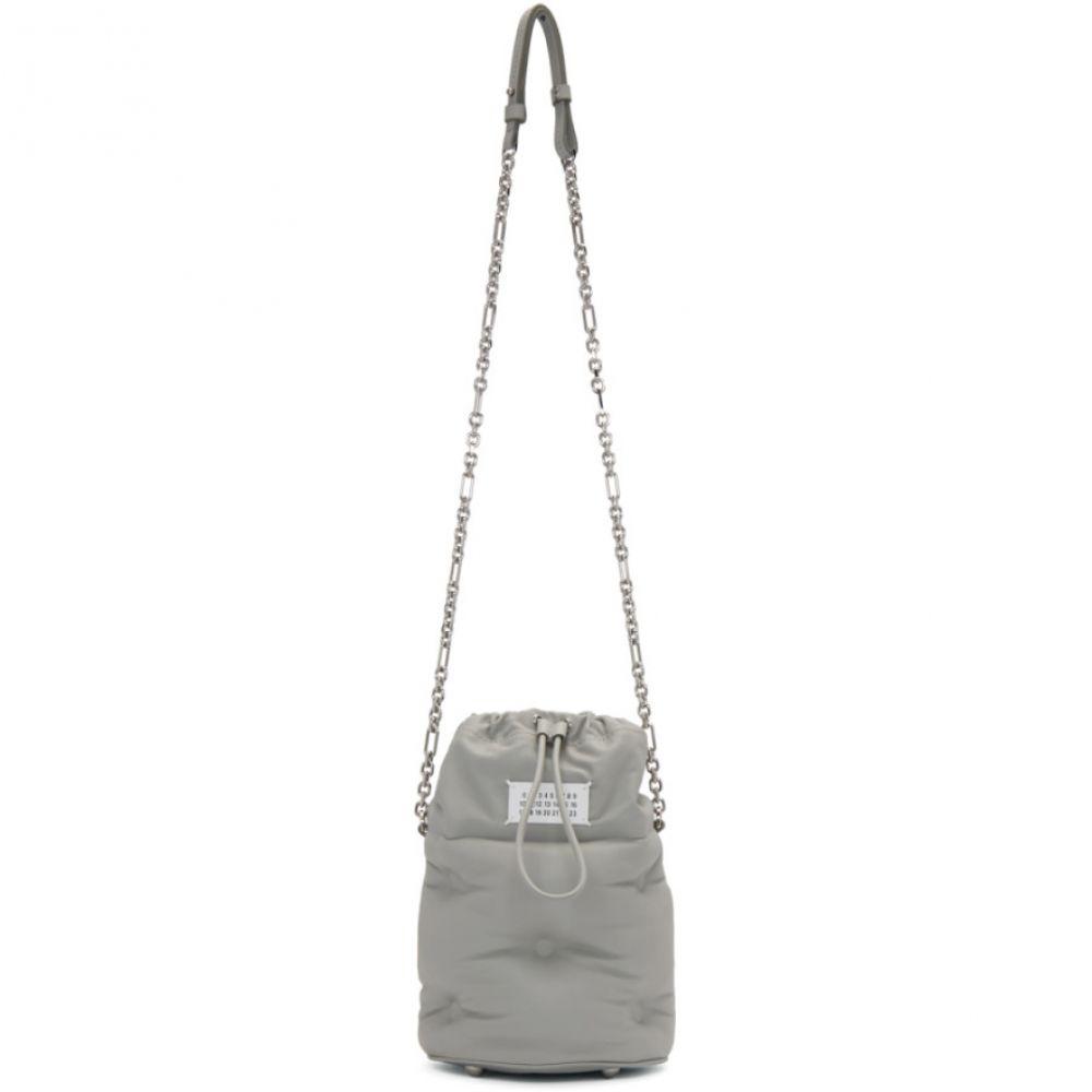 メゾン マルジェラ Maison Margiela レディース ショルダーバッグ バケットバッグ バッグ【Grey Glam Slam Bucket Bag】Calce