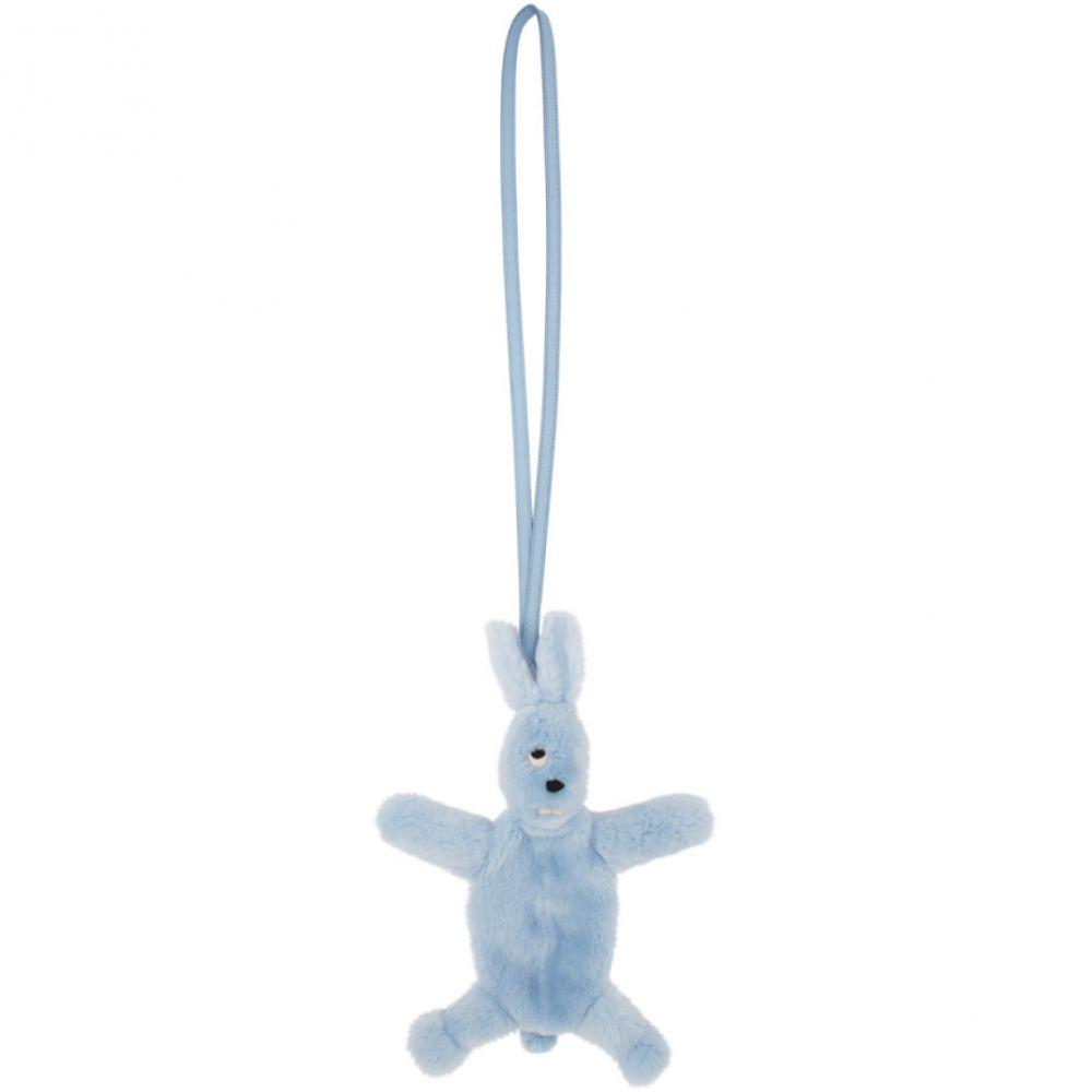 リック オウエンス Rick Owens レディース ショルダーバッグ バッグ【Blue Fur Fat Bunny Bag】Light blue