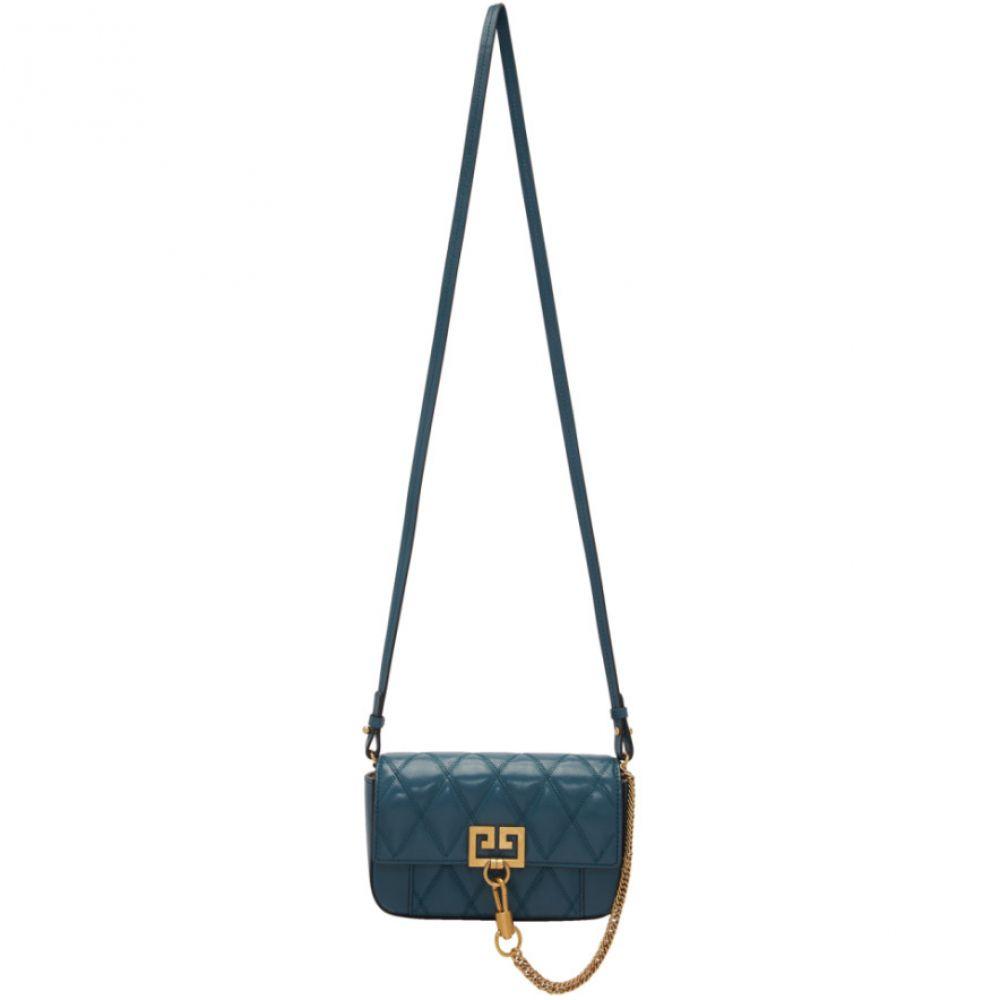 ジバンシー Givenchy レディース ショルダーバッグ バッグ【Blue Mini Pocket Bag】Oil