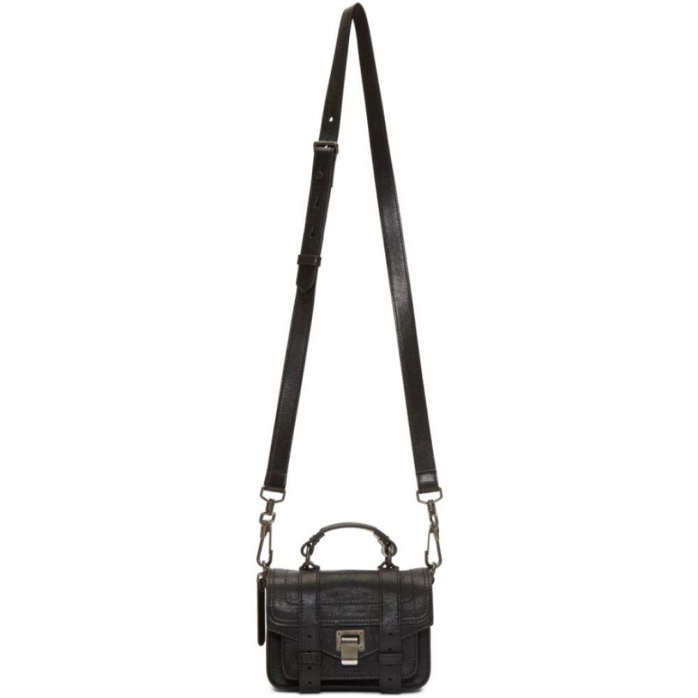 プロエンザ スクーラー Proenza Schouler レディース ショルダーバッグ バッグ【Black Micro PS1 Bag】Black