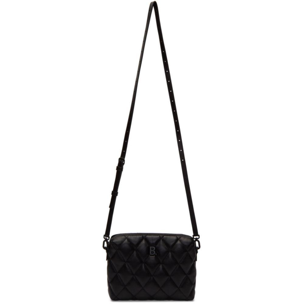 バレンシアガ Balenciaga レディース ショルダーバッグ カメラバッグ バッグ【Black Quilted Nappa B. Camera Bag】Black