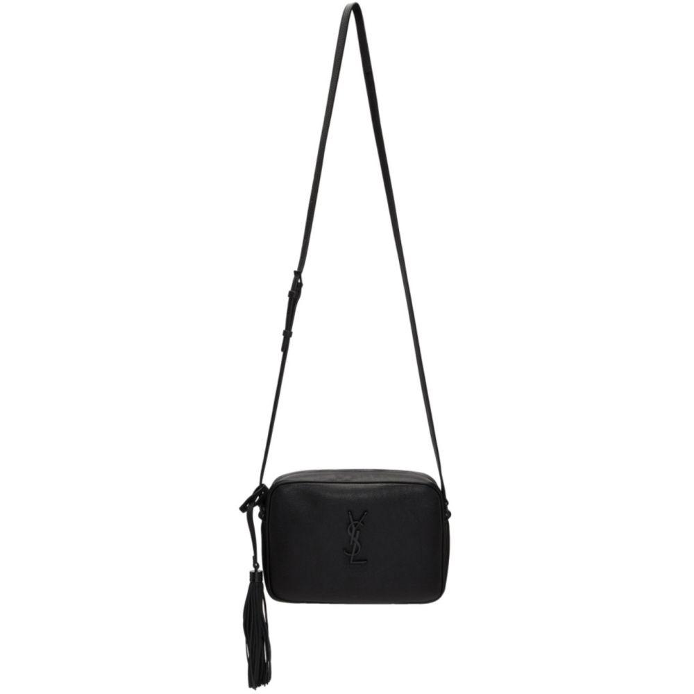 イヴ サンローラン Saint Laurent レディース ショルダーバッグ カメラバッグ バッグ【Black Lou Camera Bag】Black