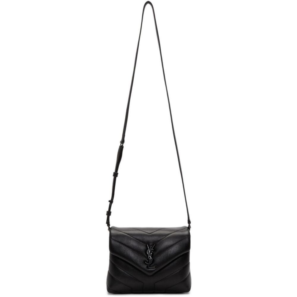 イヴ サンローラン Saint Laurent レディース ショルダーバッグ バッグ【Black Toy Loulou Bag】Black