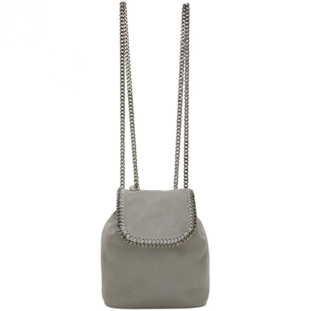 ステラ マッカートニー Stella McCartney レディース バックパック・リュック バッグ【Grey Mini Falabella Backpack】Light grey