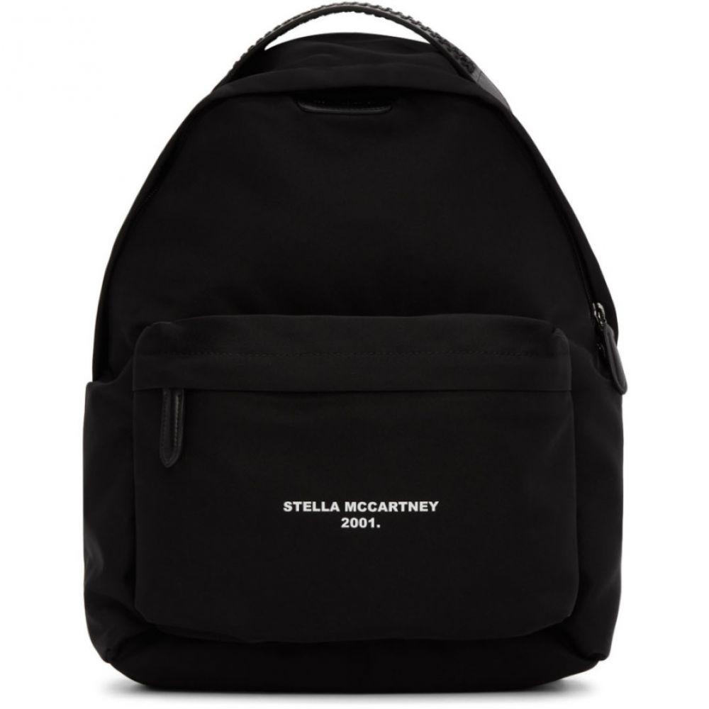 ステラ マッカートニー Stella McCartney レディース バックパック・リュック バッグ【Black Logo Go Falabella Backpack】Black