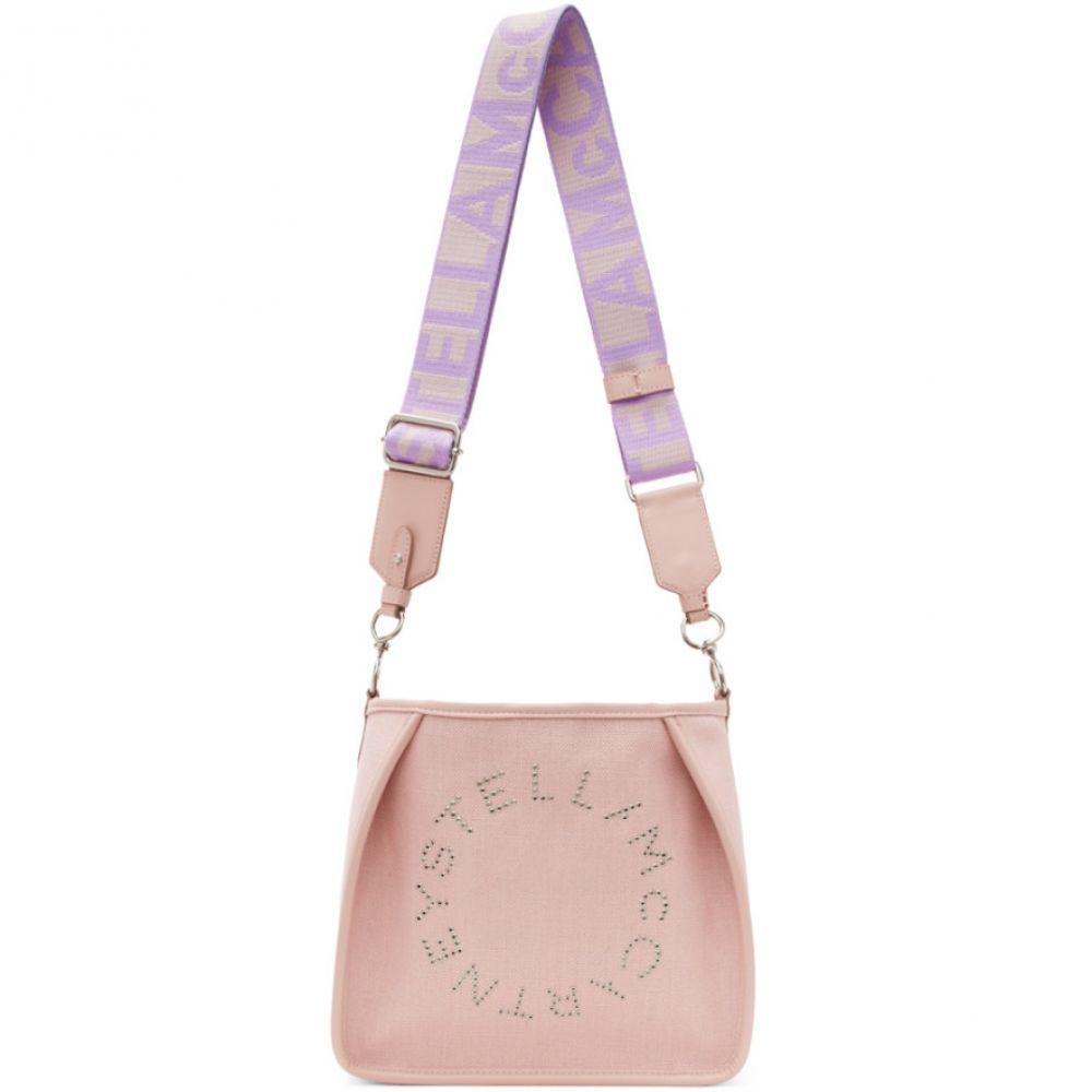 ステラ マッカートニー Stella McCartney レディース ショルダーバッグ バッグ【Pink Mini Logo Crossbody】Pale pink