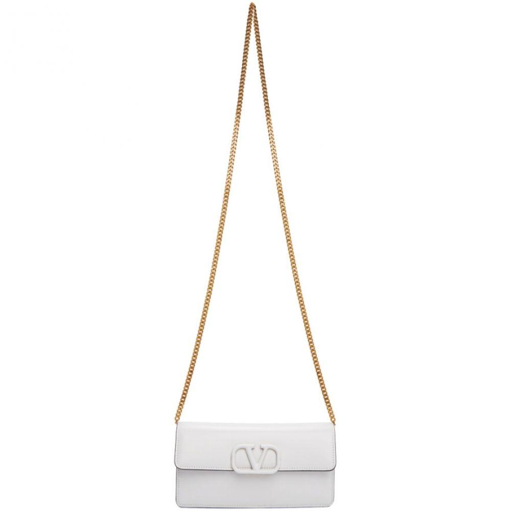 ヴァレンティノ Valentino レディース ショルダーバッグ バッグ【White Garavani VSling Bag】White
