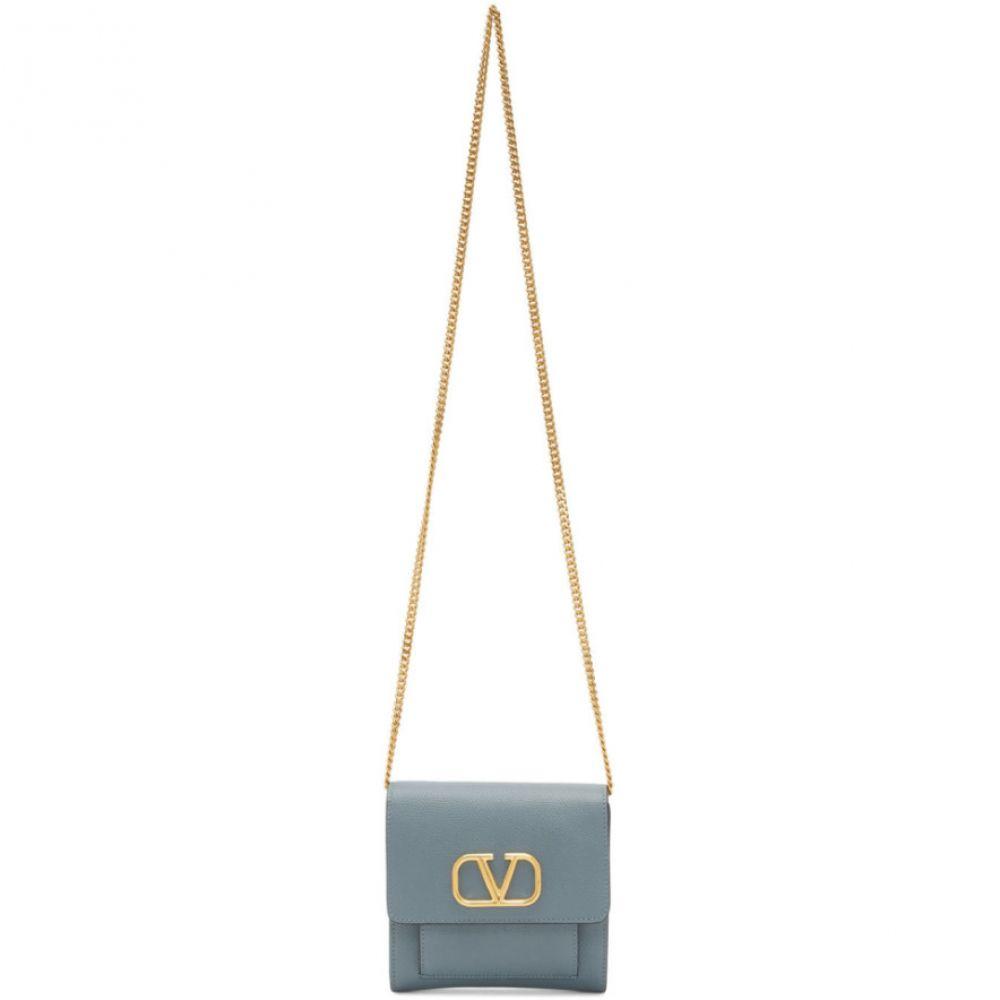 ヴァレンティノ Valentino レディース ショルダーバッグ バッグ【Blue Garavani VLogo Shoulder Bag】Amadeus