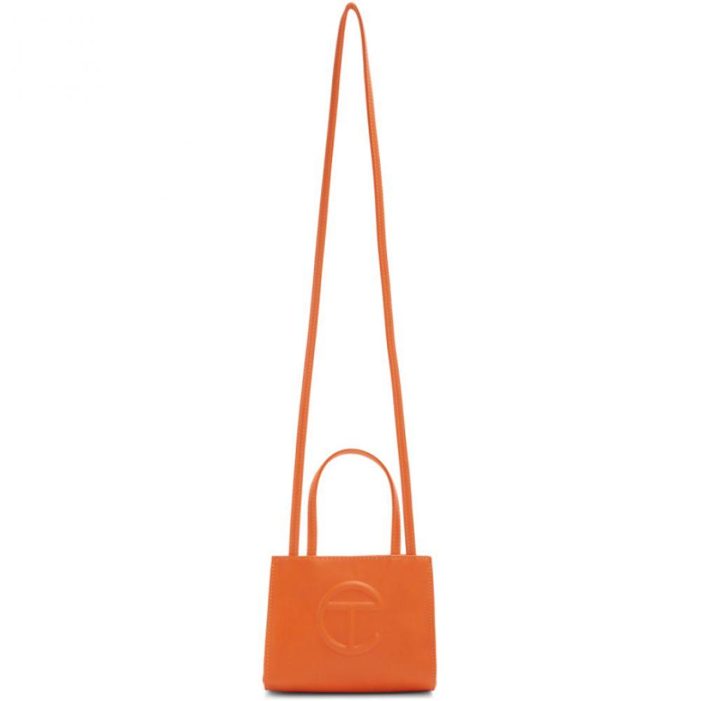 テルファー レディース バッグ トートバッグ Orange 【サイズ交換無料】 テルファー Telfar レディース トートバッグ バッグ【SSENSE Exclusive Orange Small Shopper Tote】Orange