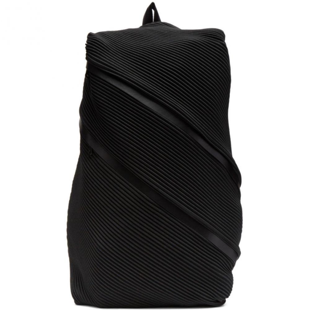 プリーツ プリーズ イッセイ ミヤケ Pleats Please Issey Miyake レディース バックパック・リュック バッグ【Black Bias Pleats Backpack】Black