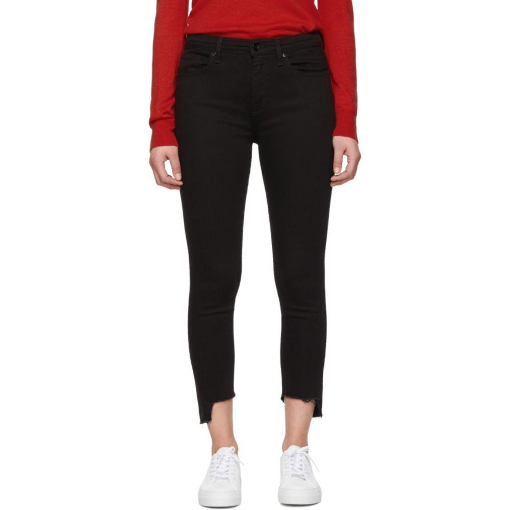 ラグ&ボーン rag & bone レディース ジーンズ・デニム ボトムス・パンツ【Black Nina Ankle Skinny Jeans】Black hampton