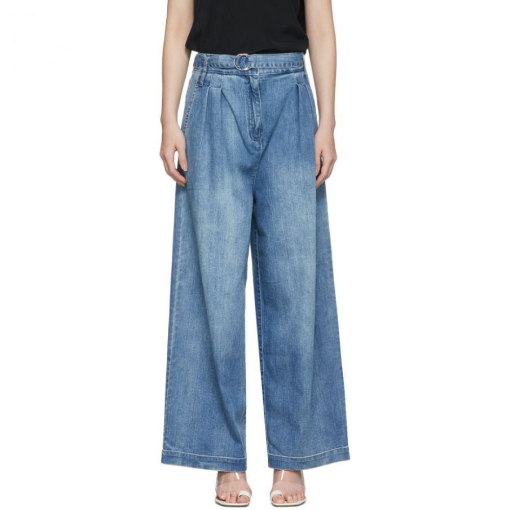 ティビ Tibi レディース ジーンズ・デニム ボトムス・パンツ【Blue Vintage Stone Denim Stella Jeans】Vintage stone wash