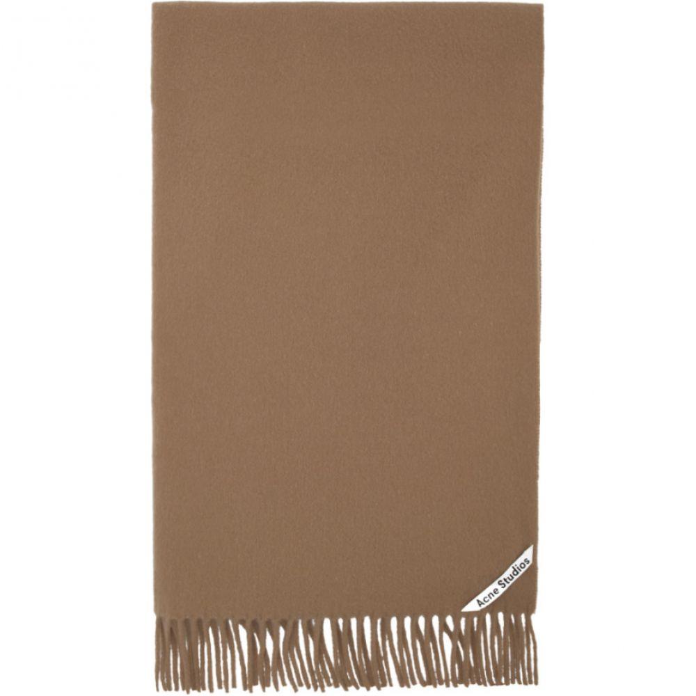 アクネ ストゥディオズ Acne Studios レディース マフラー・スカーフ・ストール 【Brown Canada New Scarf】Camel brown