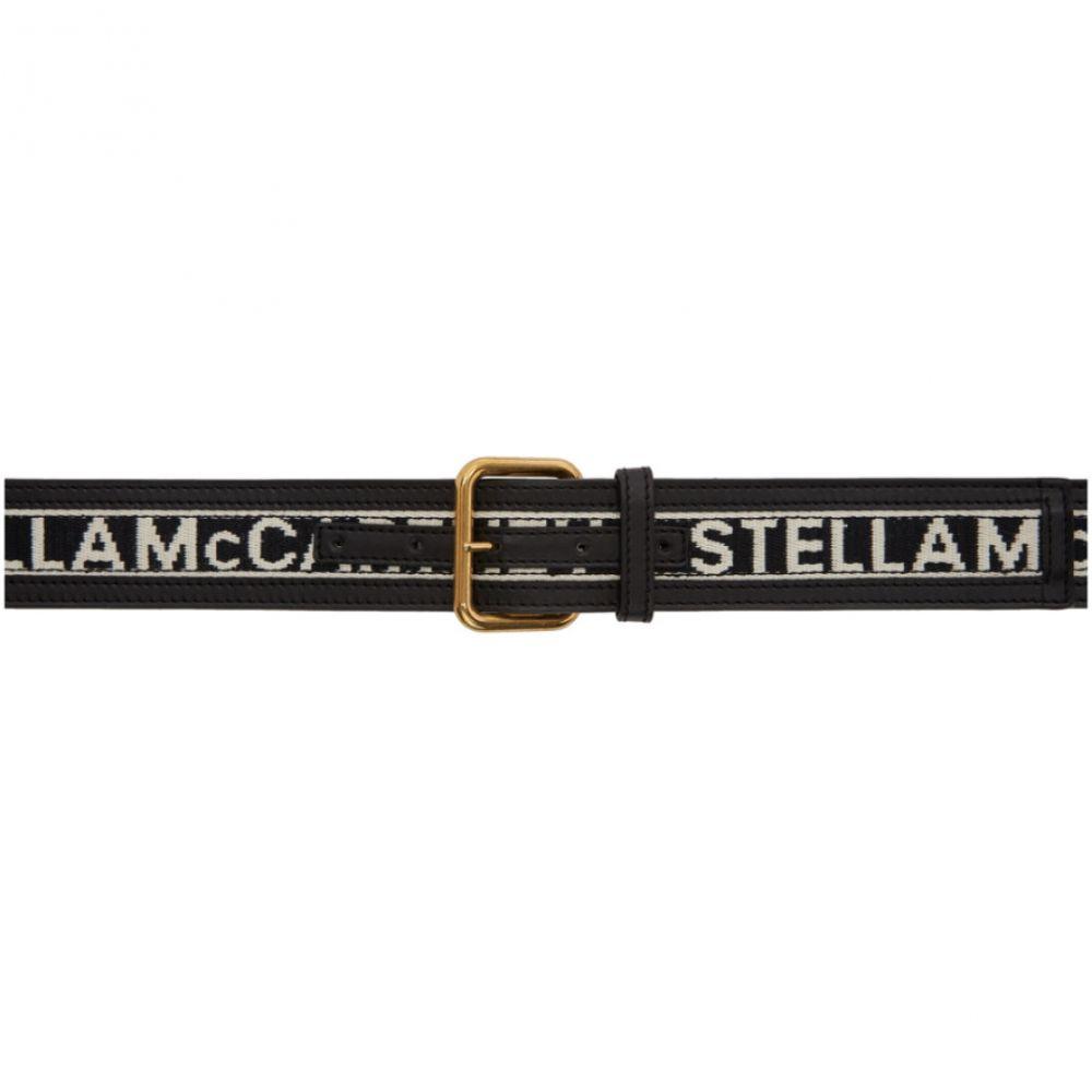 ステラ マッカートニー Stella McCartney レディース ベルト 【Black Logo Band Belt】Beige/Black