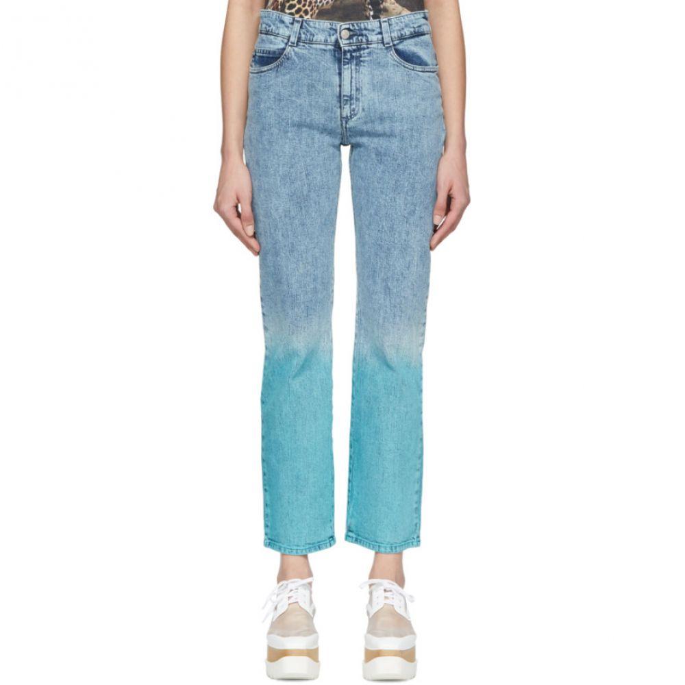 ステラ マッカートニー Stella McCartney レディース ジーンズ・デニム ボトムス・パンツ【Blue 'The Straight Boyfriend' Jeans】Pure blue degrade