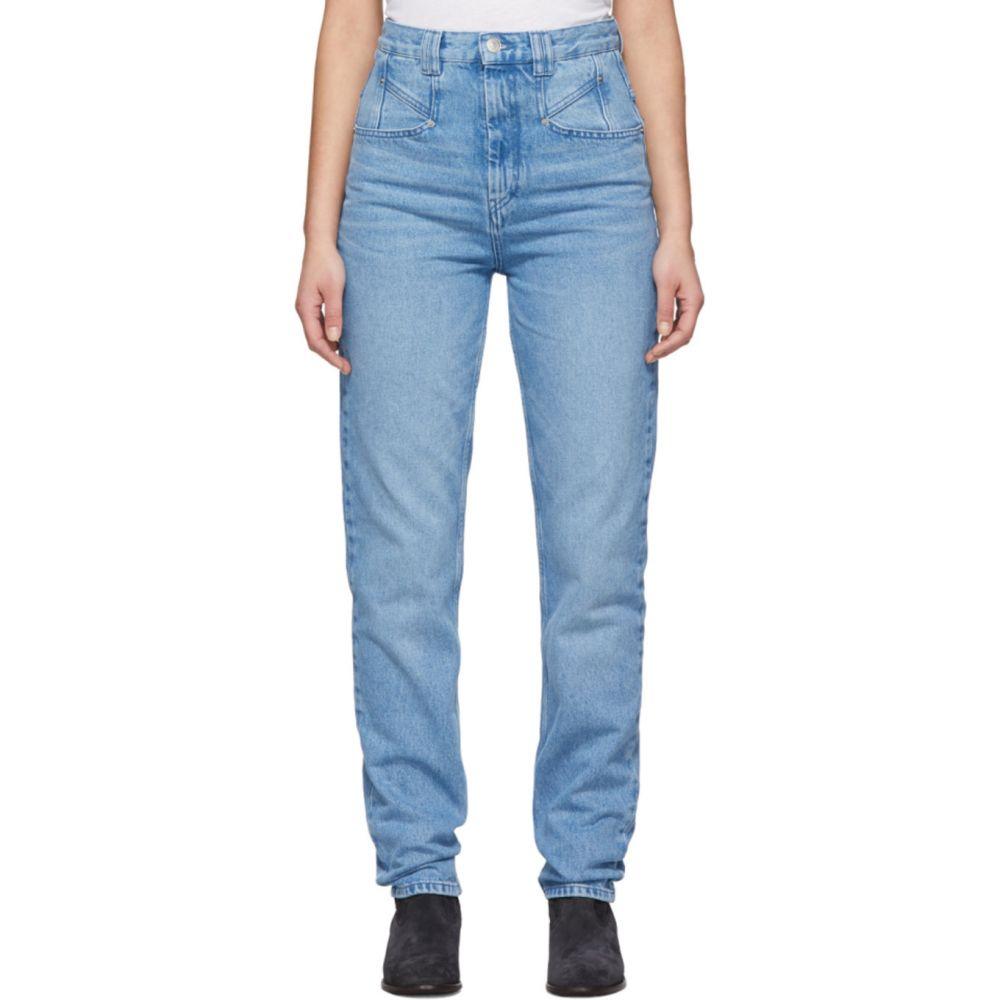イザベル マラン Isabel Marant レディース ジーンズ・デニム ボトムス・パンツ【Blue Dominic Jeans】Light blue