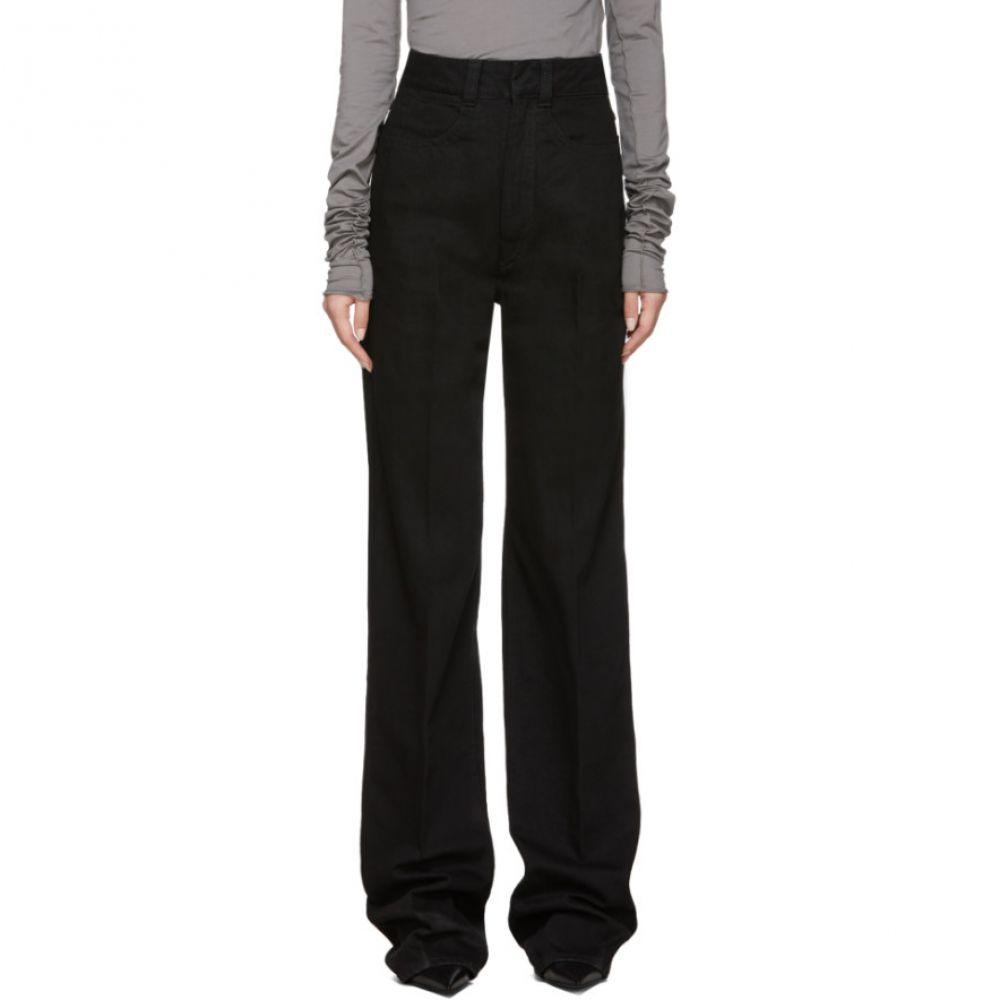 ルメール Lemaire レディース ジーンズ・デニム ボトムス・パンツ【Black Large Jeans】Black