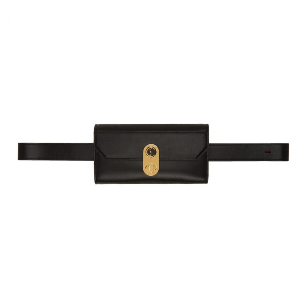 クリスチャン ルブタン Christian Louboutin レディース ボディバッグ・ウエストポーチ バッグ【Black Elisa Belt Bag】Black