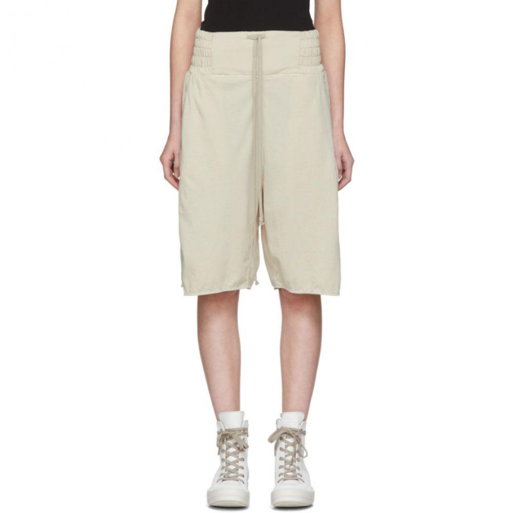 リック オウエンス Rick Owens Drkshdw レディース ショートパンツ ボクサーショーツ ボトムス・パンツ【Off-White Jersey Boxer Shorts】Pearl