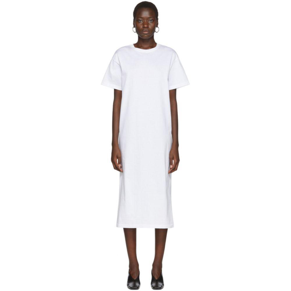 アーチ ザ Arch The レディース ワンピース Tシャツワンピース ワンピース・ドレス【White Cotton T-Shirt Dress】White
